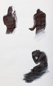 Ombre silhouette