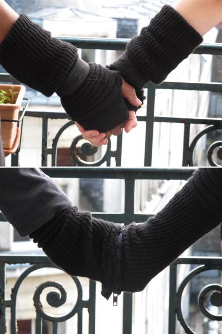 Gants d'amour par Julie Romanet